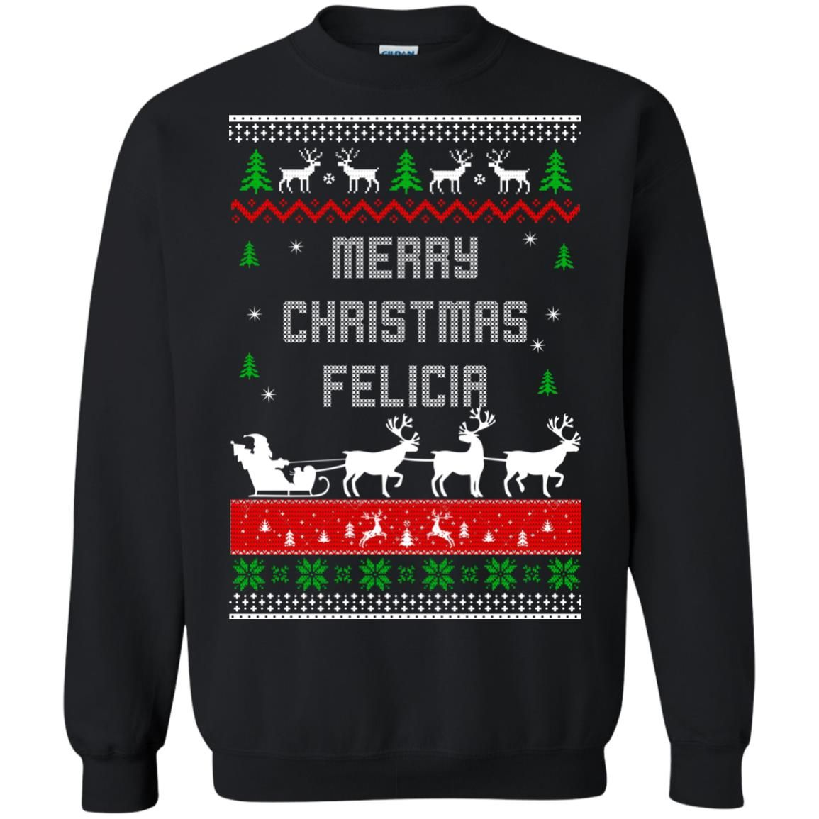 image 1675 - Raxo Merry Christmas Felicia ugly sweater, hoodie