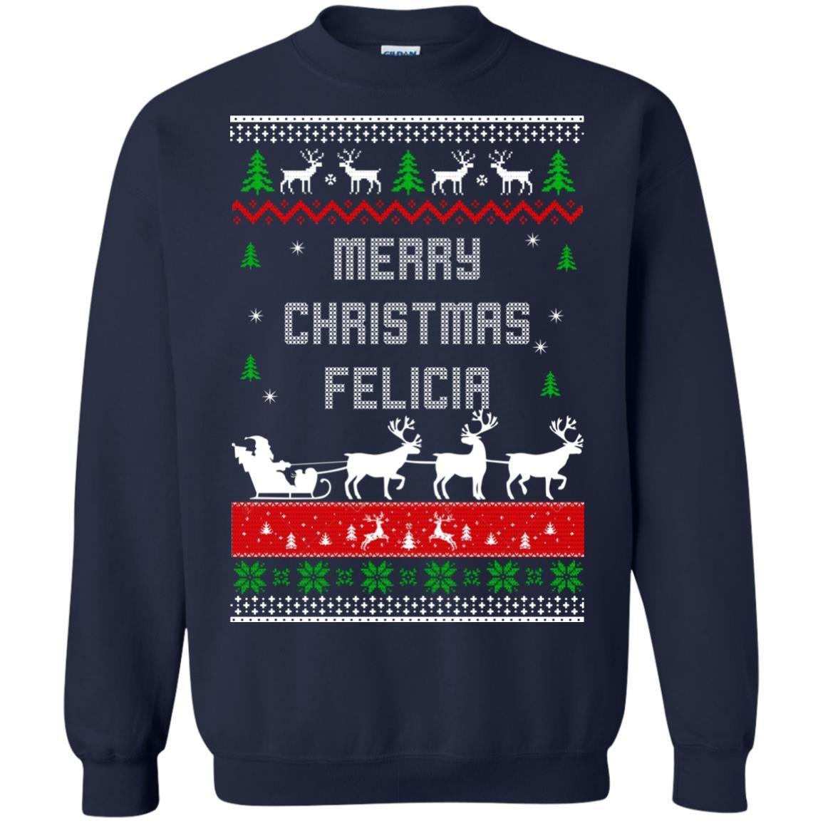 image 1676 - Raxo Merry Christmas Felicia ugly sweater, hoodie
