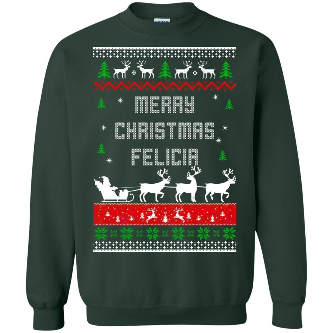 image 1678 - Raxo Merry Christmas Felicia ugly sweater, hoodie