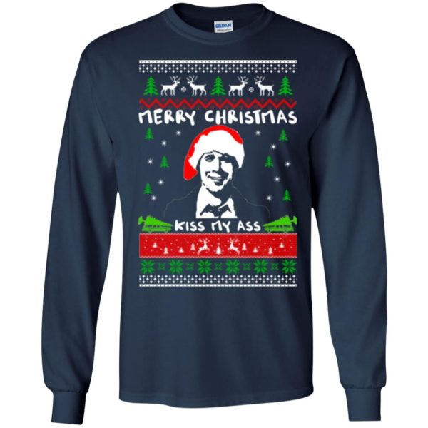 image 1696 600x600 - Clark Griswold: Merry Christmas kiss my ass sweater, hoodie, long sleeve