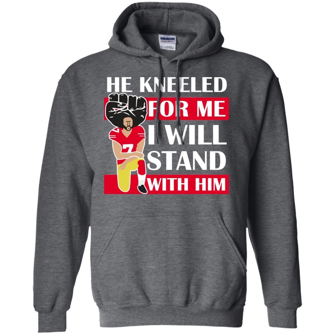 image 17 - Colin Kaepernick He Kneeled for me shirt