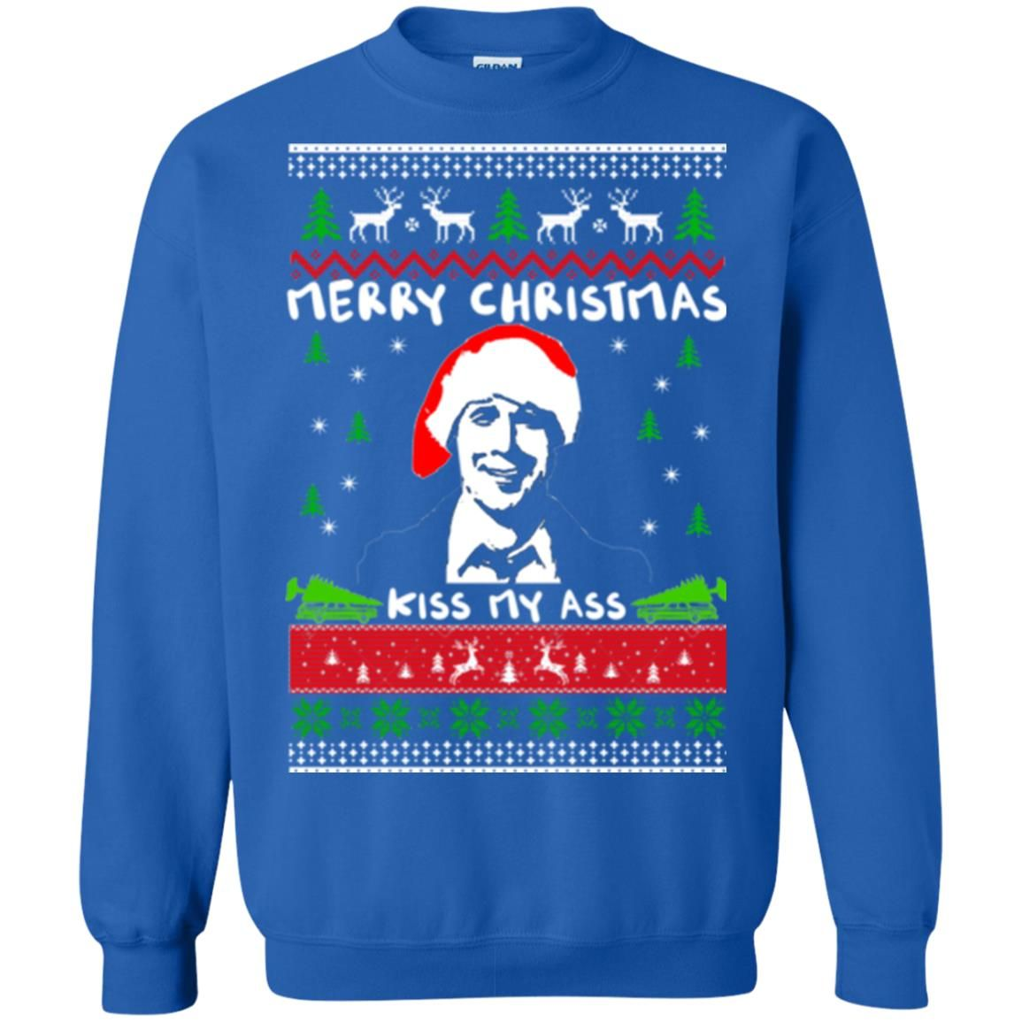 image 1703 - Clark Griswold: Merry Christmas kiss my ass sweater, hoodie, long sleeve