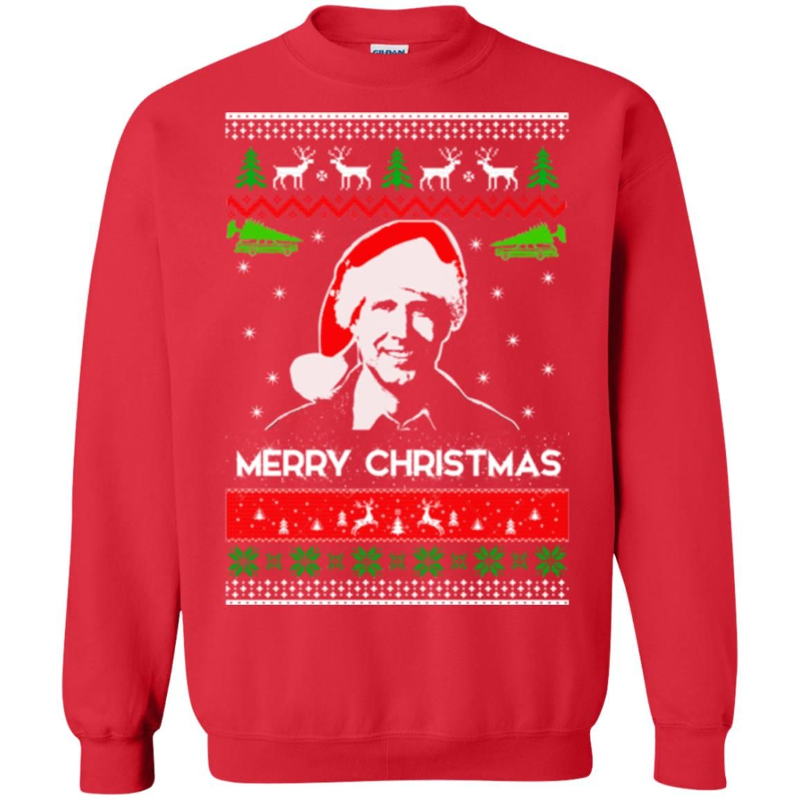 image 1713 - Clark Griswold: Merry Christmas ugly Sweatshirt, long sleeve
