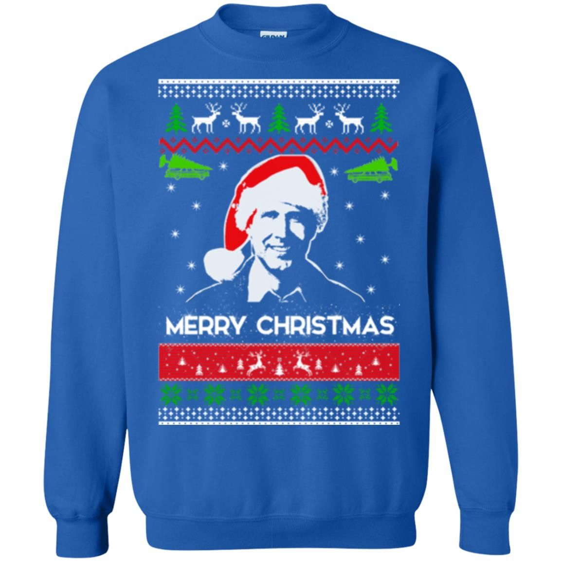 image 1715 - Clark Griswold: Merry Christmas ugly Sweatshirt, long sleeve