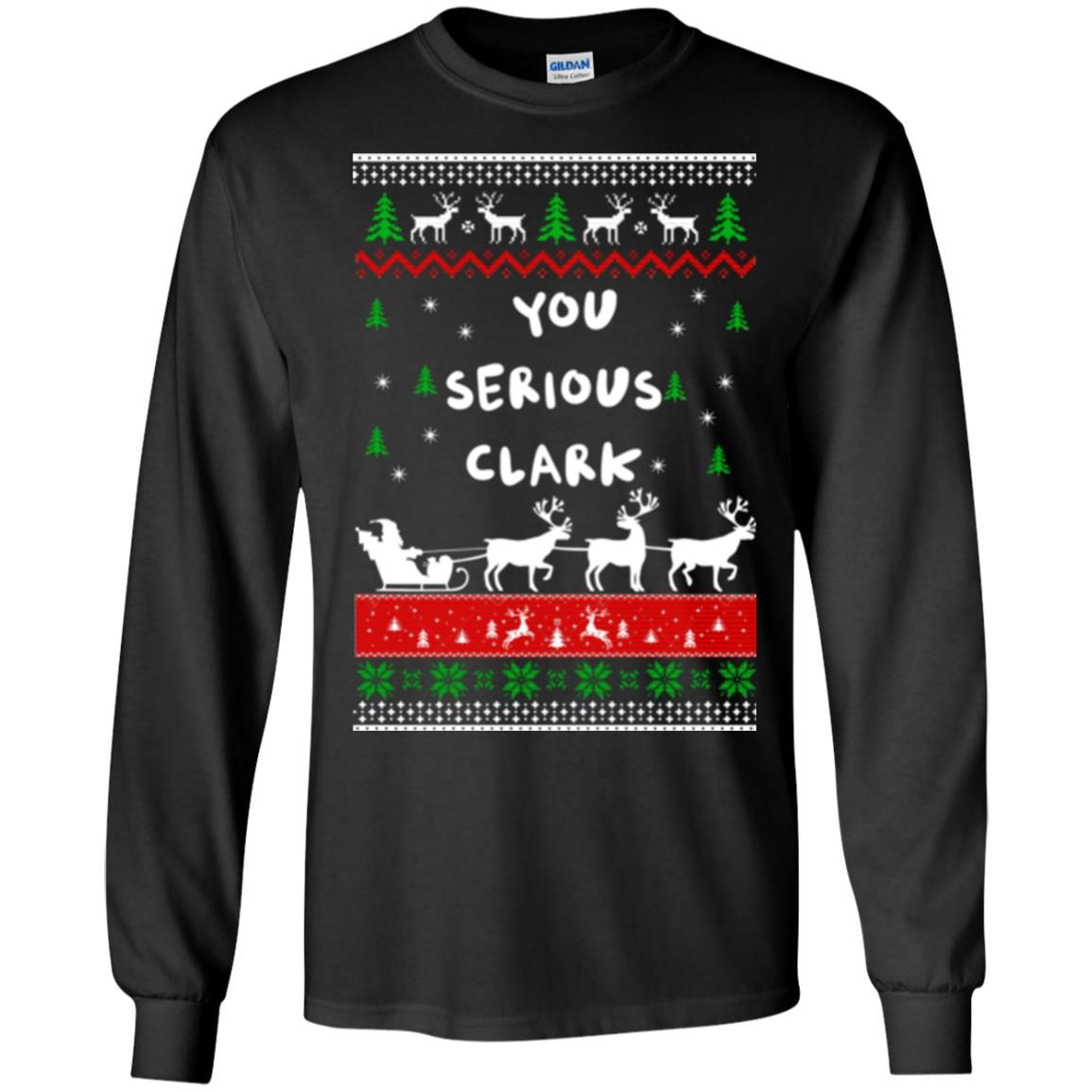 image 1719 - Christmas Vacation: You serious Clark sweater, t-shirt