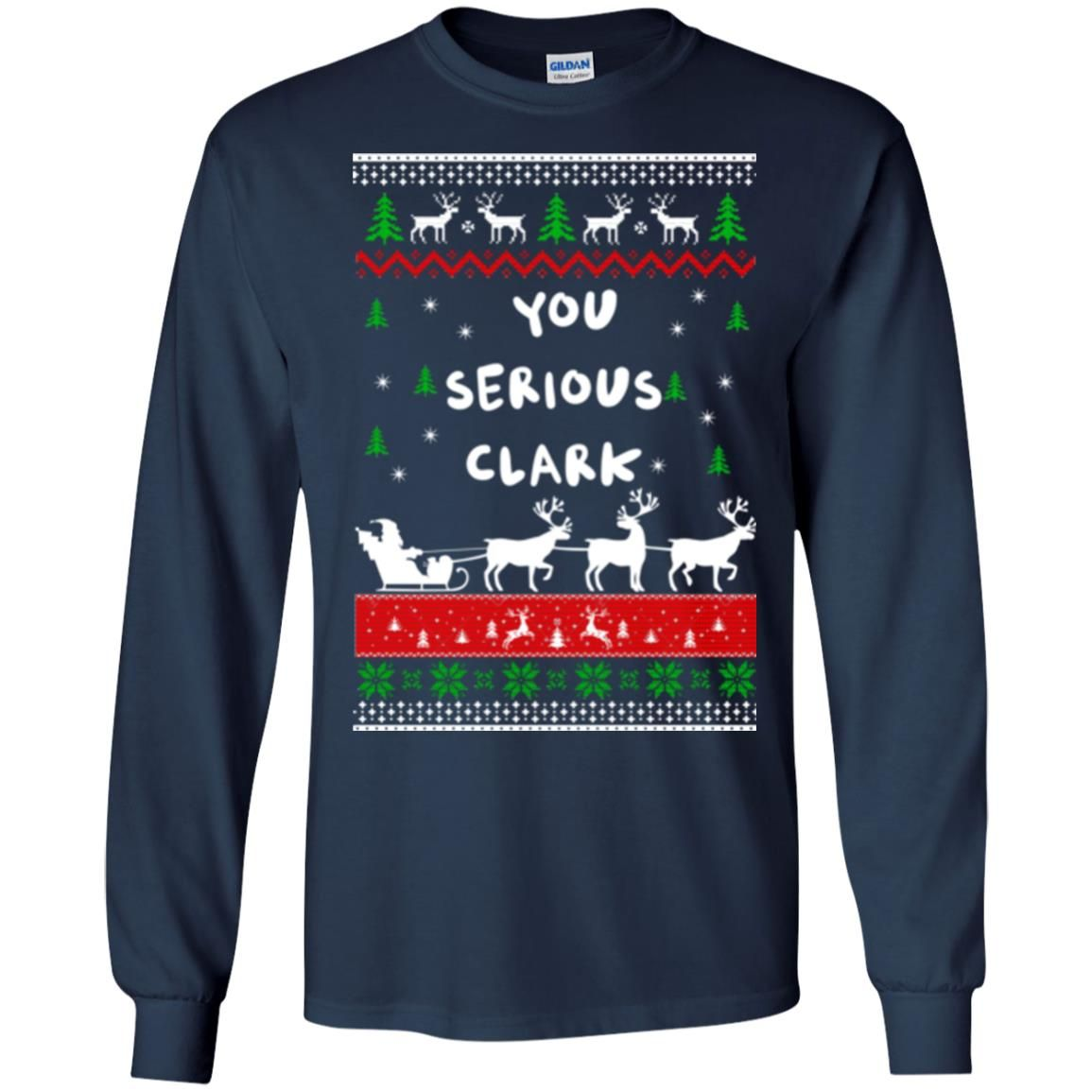 image 1720 - Christmas Vacation: You serious Clark sweater, t-shirt