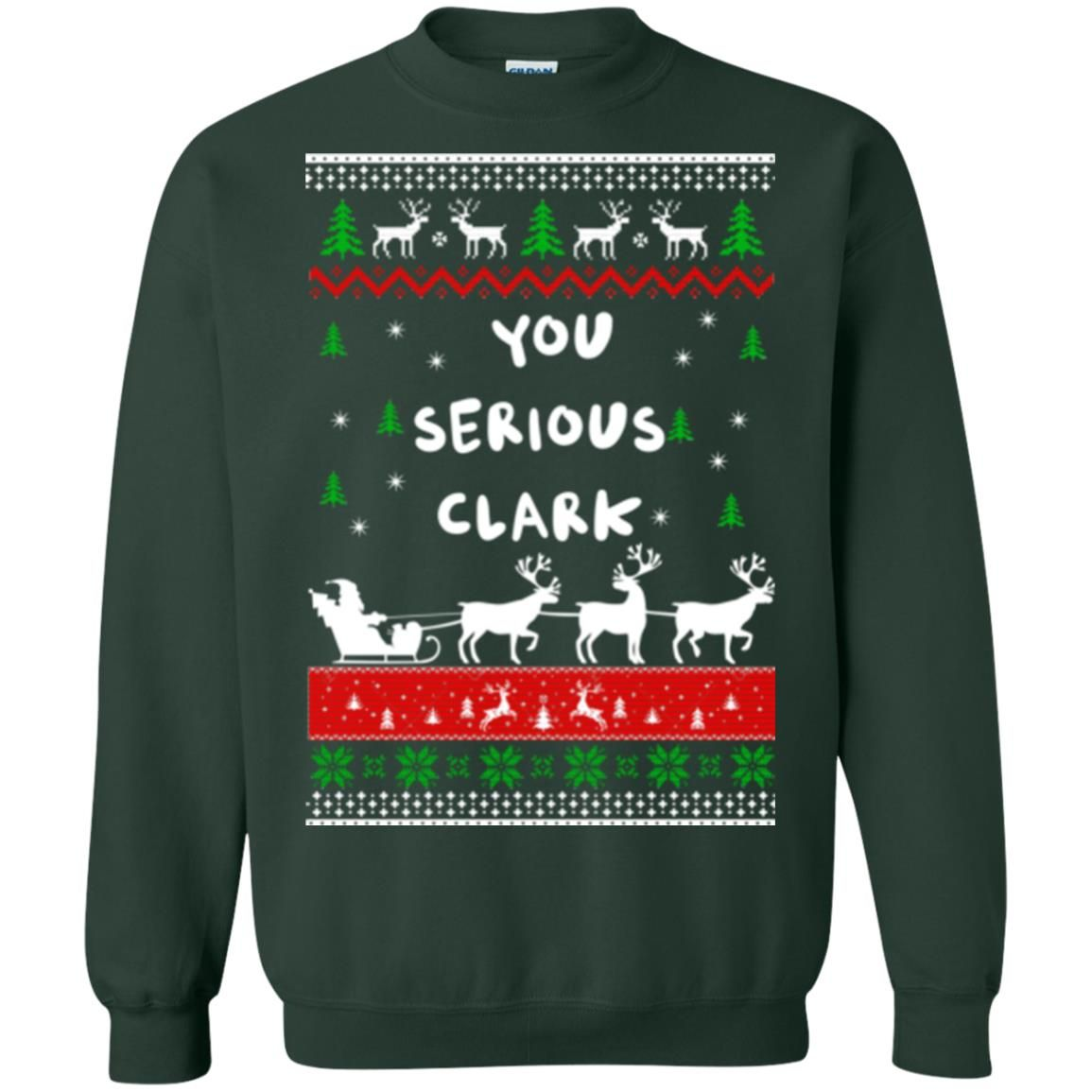 image 1726 - Christmas Vacation: You serious Clark sweater, t-shirt
