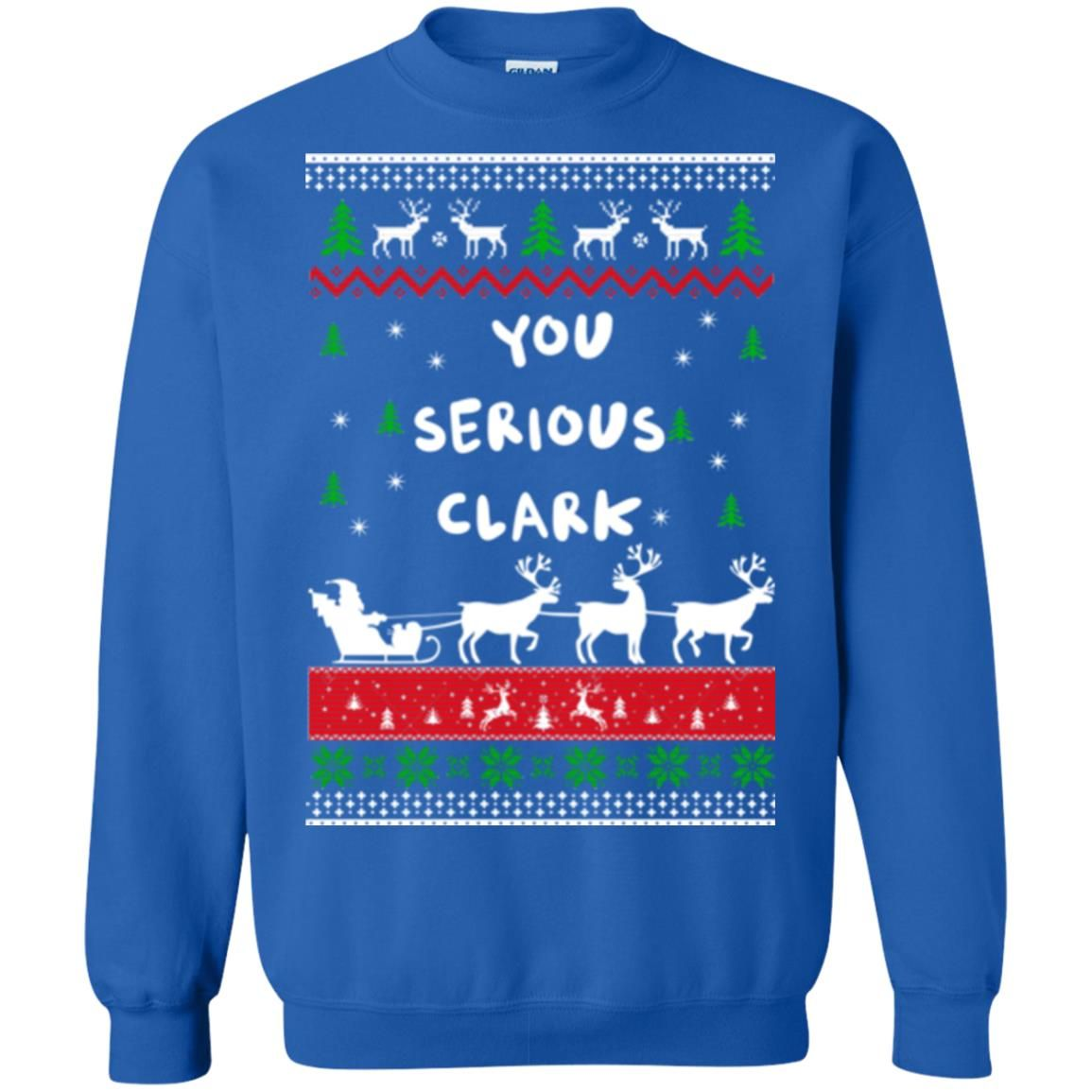 image 1727 - Christmas Vacation: You serious Clark sweater, t-shirt