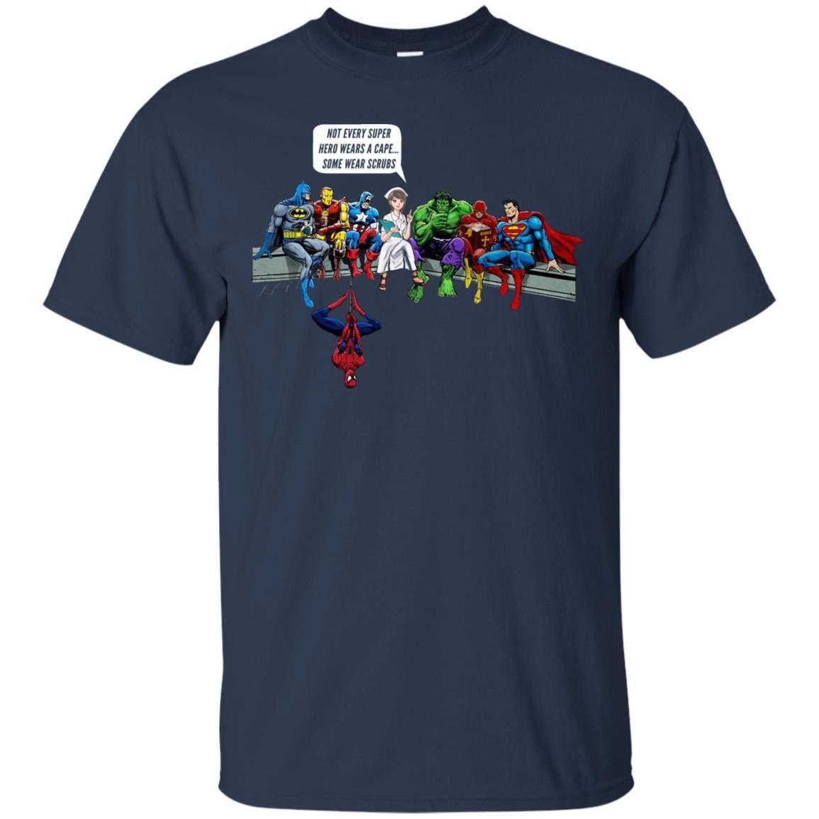 image 1892 - Nurse and Superheroes shirt, hoodie, tank top