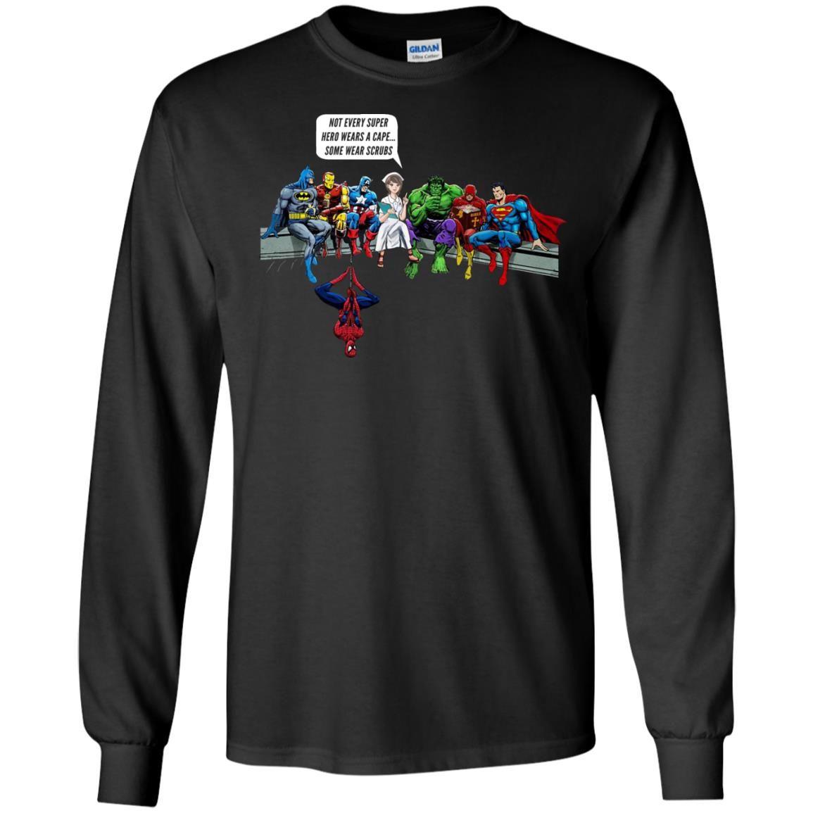 image 1894 - Nurse and Superheroes shirt, hoodie, tank top