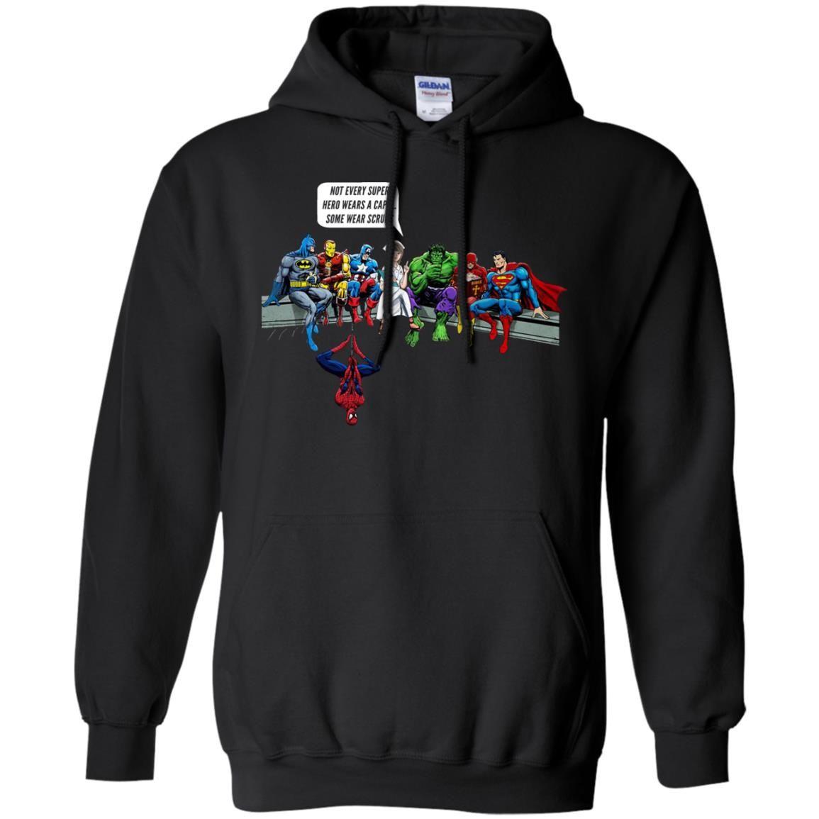 image 1896 - Nurse and Superheroes shirt, hoodie, tank top