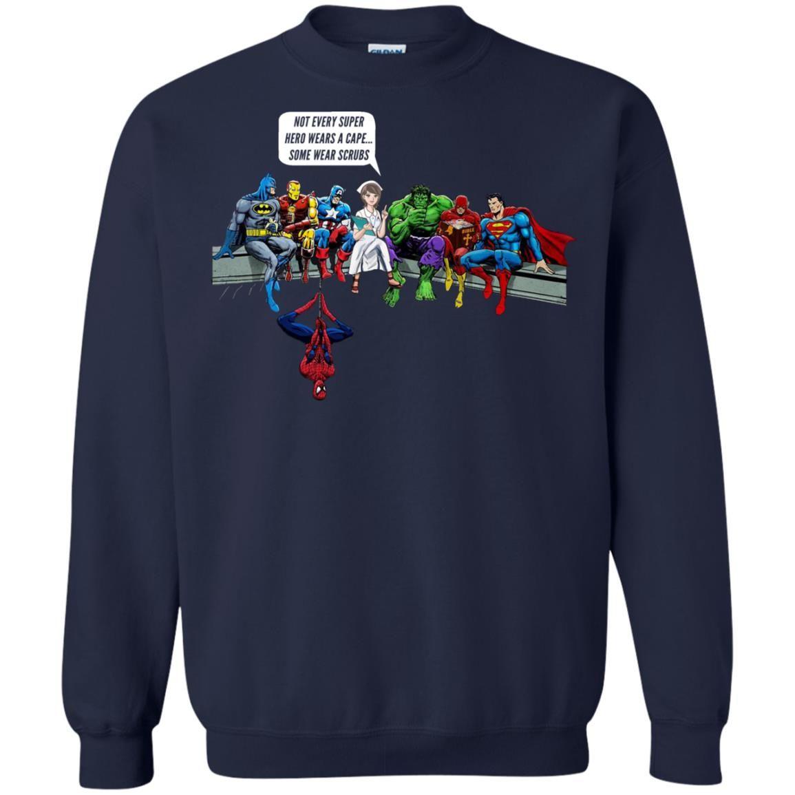 image 1899 - Nurse and Superheroes shirt, hoodie, tank top