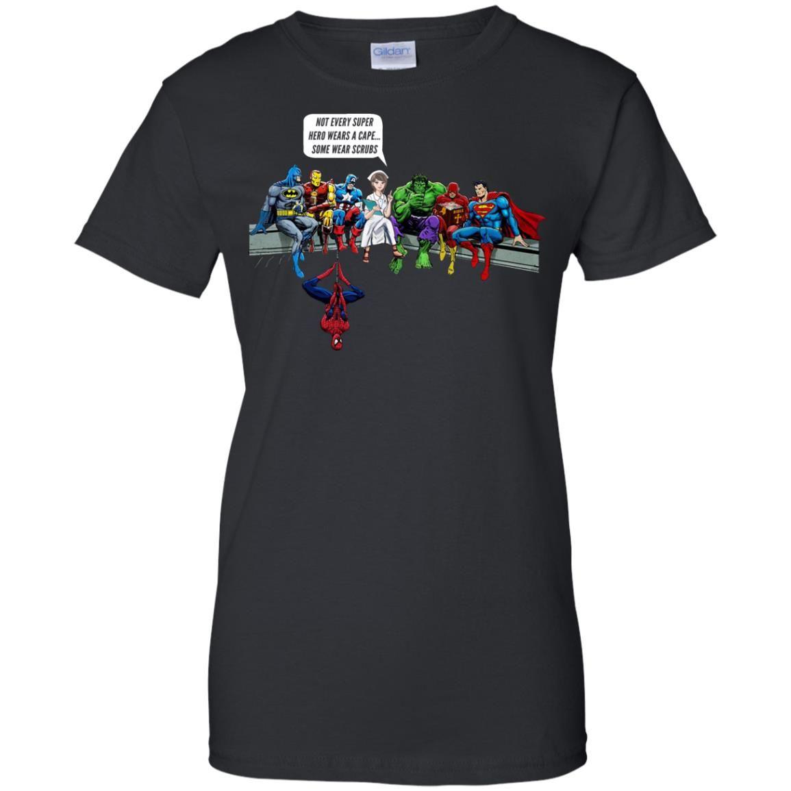 image 1900 - Nurse and Superheroes shirt, hoodie, tank top