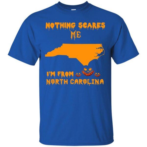 image 193 600x600 - Halloween: Nothing Scares Me I'm From North Carolina shirt, hoodie, tank