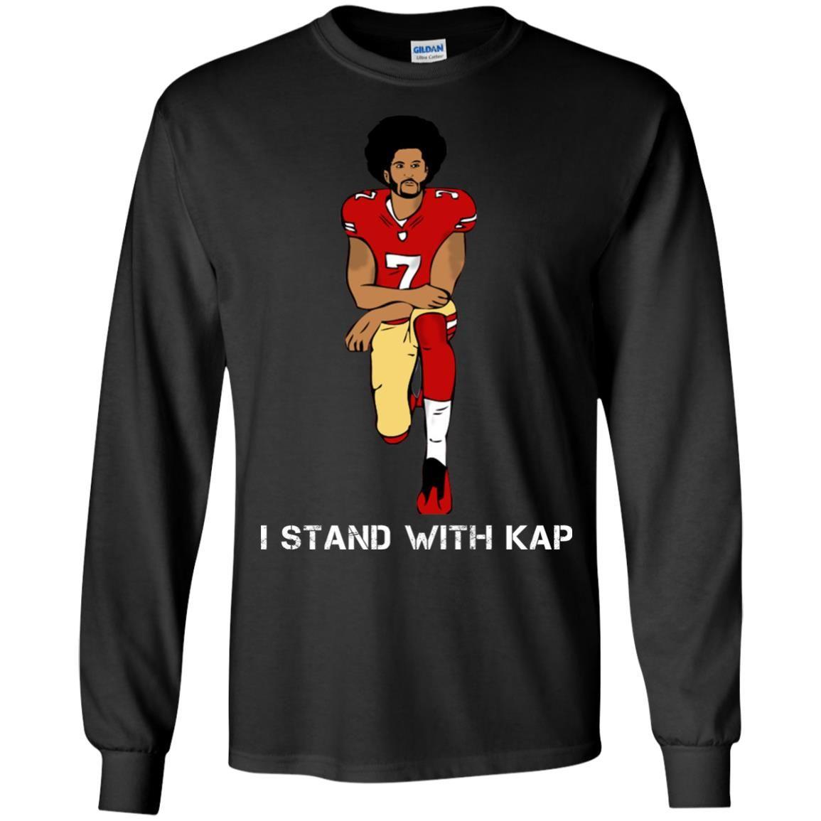 image 1936 - I stand with Kap shirt, hoodie