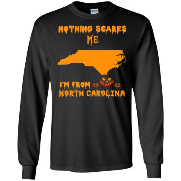image 194 600x600 - Halloween: Nothing Scares Me I'm From North Carolina shirt, hoodie, tank