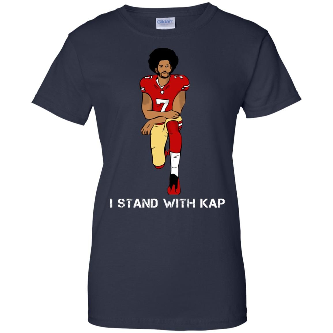 image 1943 - I stand with Kap shirt, hoodie