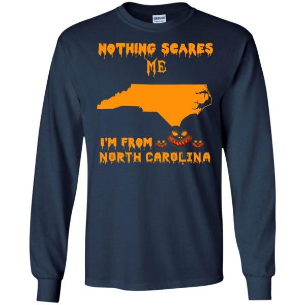 image 195 600x600 - Halloween: Nothing Scares Me I'm From North Carolina shirt, hoodie, tank