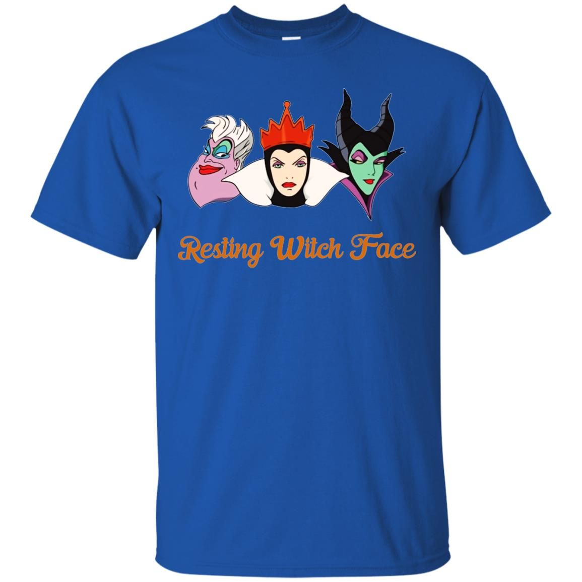 image 1957 - Resting Witch Face shirt for Halloween: Ursula, Maleficent, Evil Queen