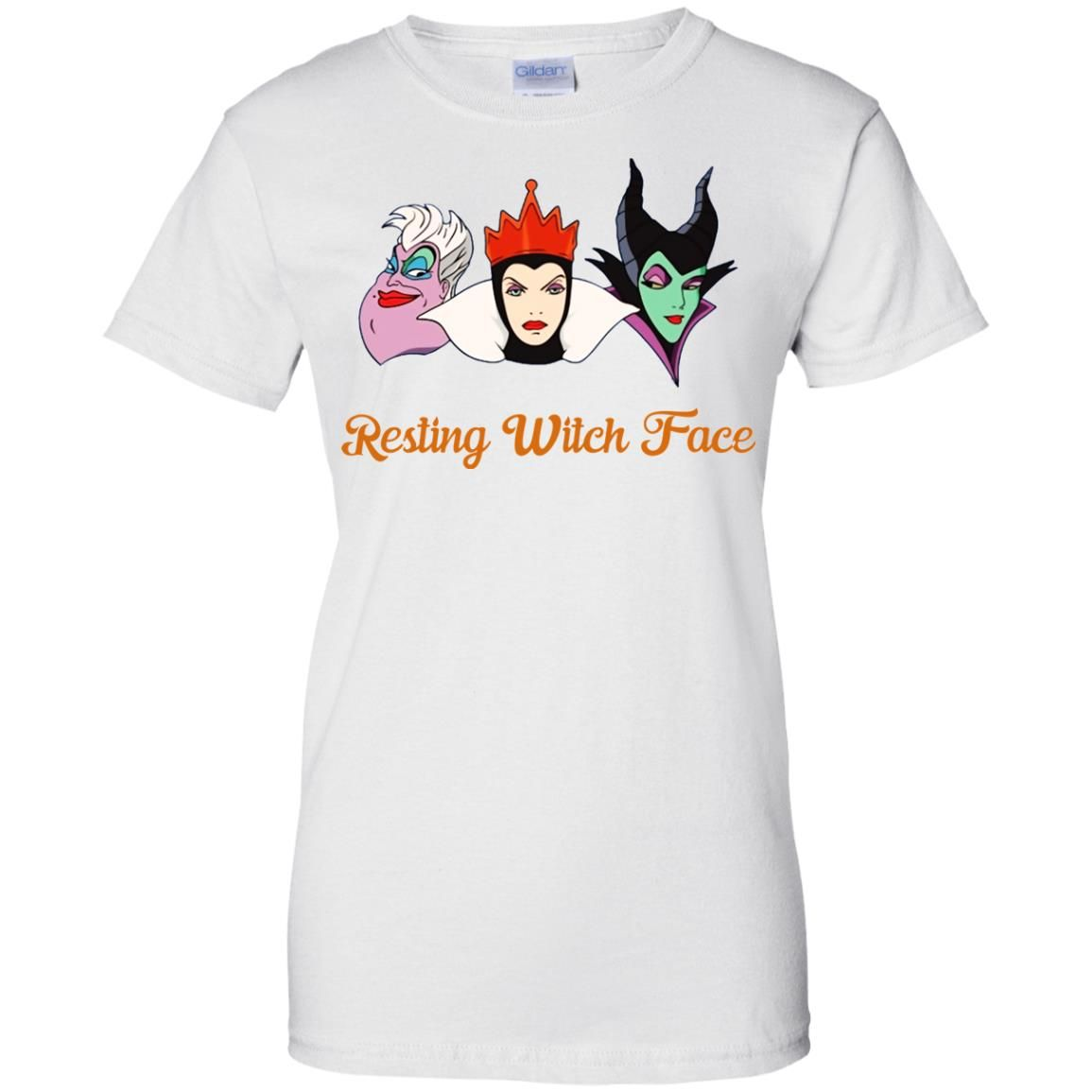 image 1964 - Resting Witch Face shirt for Halloween: Ursula, Maleficent, Evil Queen