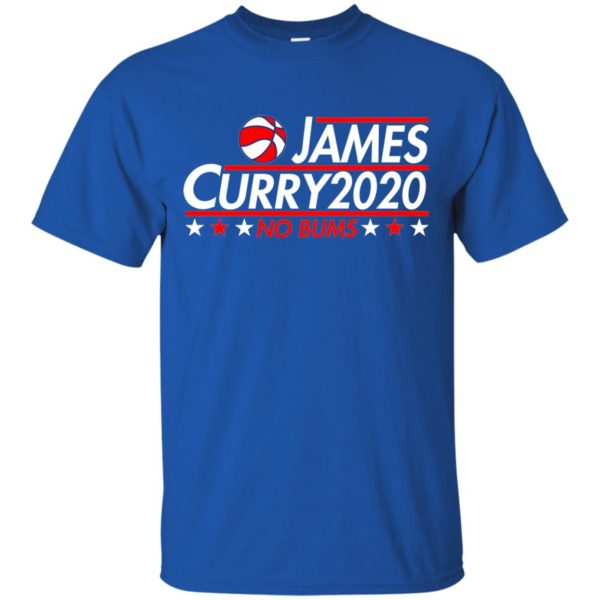 image 2166 600x600 - James Curry 2020 shirt No Bums: James & Curry for President
