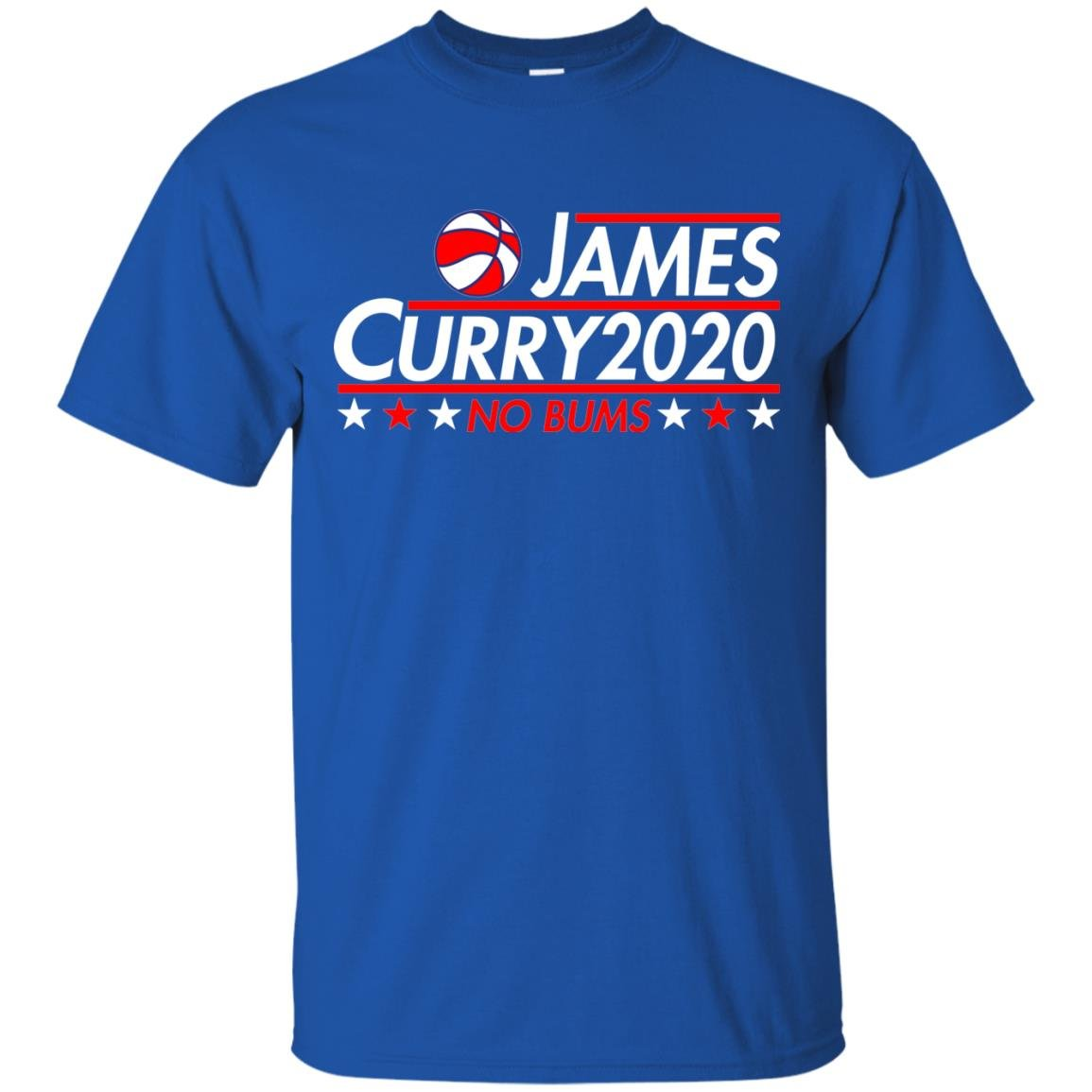 image 2166 - James Curry 2020 shirt No Bums: James & Curry for President
