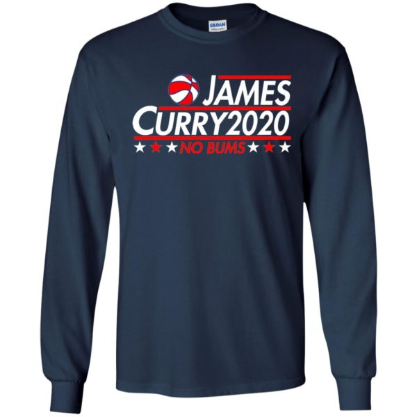 image 2169 600x600 - James Curry 2020 shirt No Bums: James & Curry for President