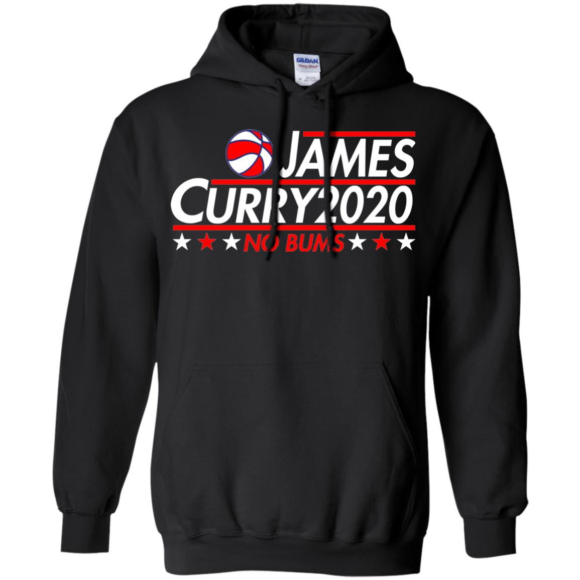image 2170 - James Curry 2020 shirt No Bums: James & Curry for President