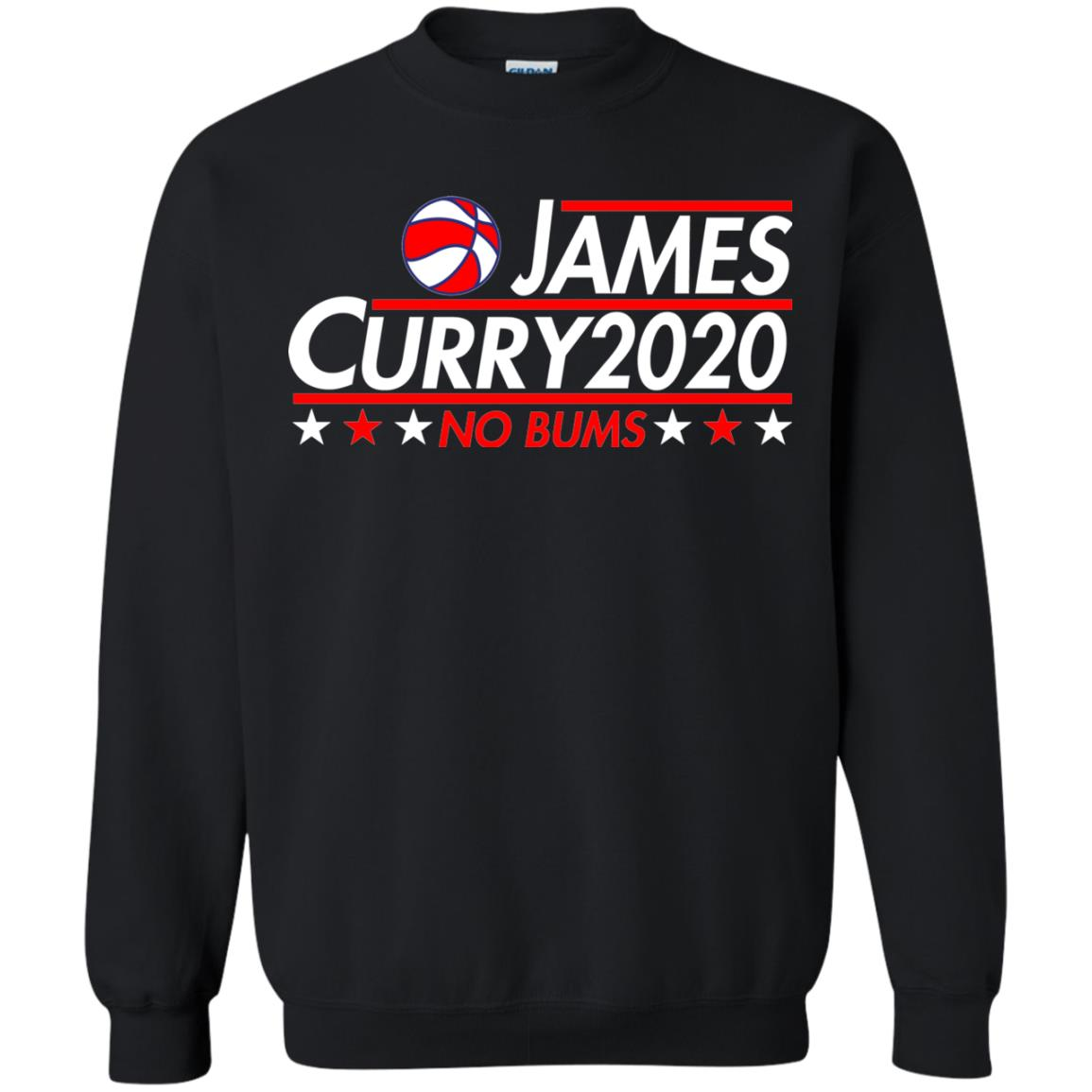 image 2172 - James Curry 2020 shirt No Bums: James & Curry for President