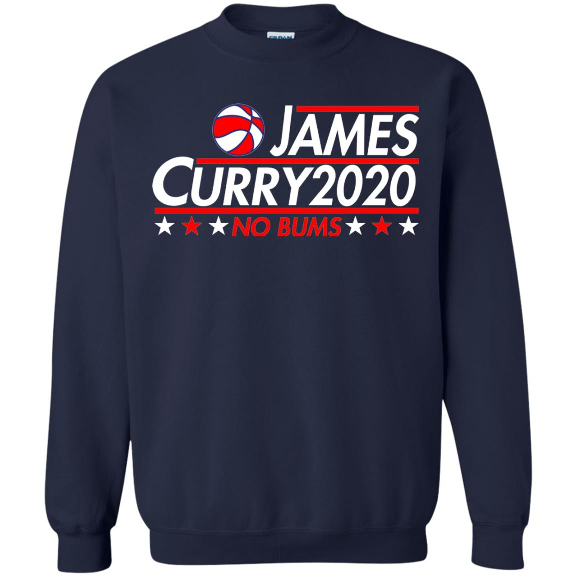 image 2173 - James Curry 2020 shirt No Bums: James & Curry for President