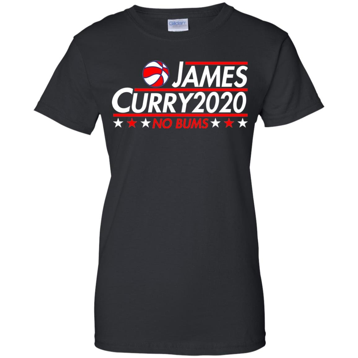 image 2176 - James Curry 2020 shirt No Bums: James & Curry for President