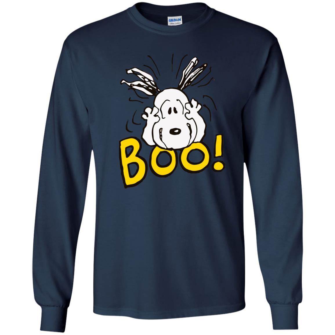 image 2229 - Peanuts Snoopy Halloween Boo shirt, hoodie, tank