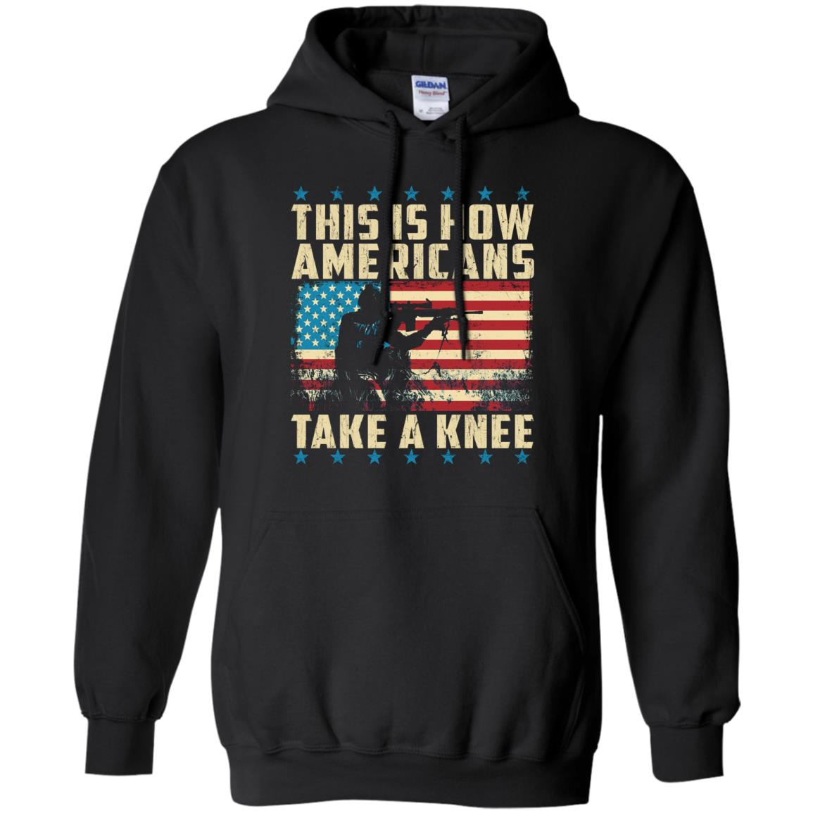 image 2281 - This is how Americans take a Knee shirt, hoodie, tank