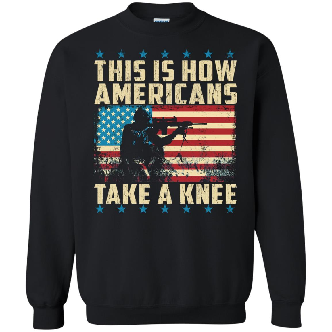 image 2283 - This is how Americans take a Knee shirt, hoodie, tank