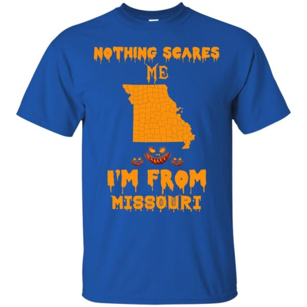 image 231 600x600 - Halloween: Nothing Scares Me I'm From Missouri shirt, hoodie, tank