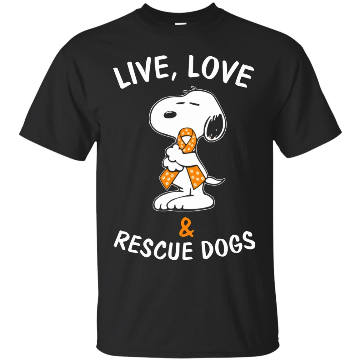 image 2339 - Snoopy: Live love and rescue dogs shirt, hoodie, sweater