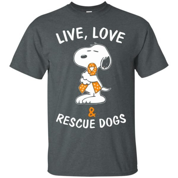 image 2341 600x600 - Snoopy: Live love and rescue dogs shirt, hoodie, sweater