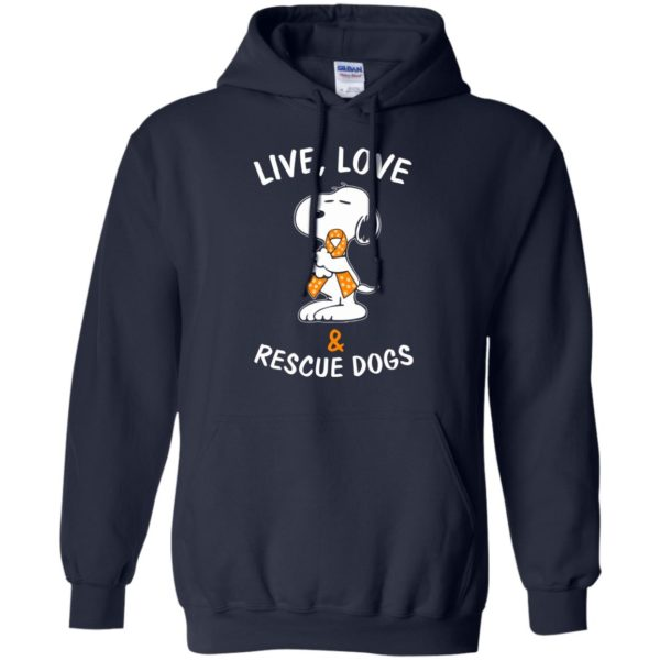 image 2345 600x600 - Snoopy: Live love and rescue dogs shirt, hoodie, sweater