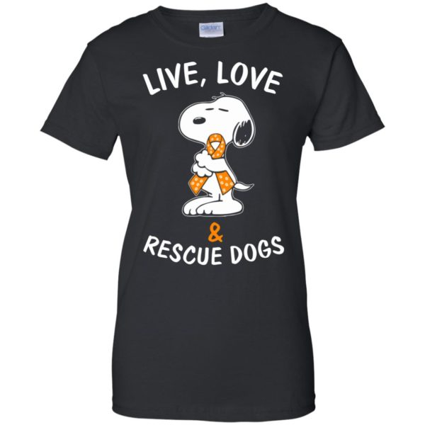 image 2348 600x600 - Snoopy: Live love and rescue dogs shirt, hoodie, sweater
