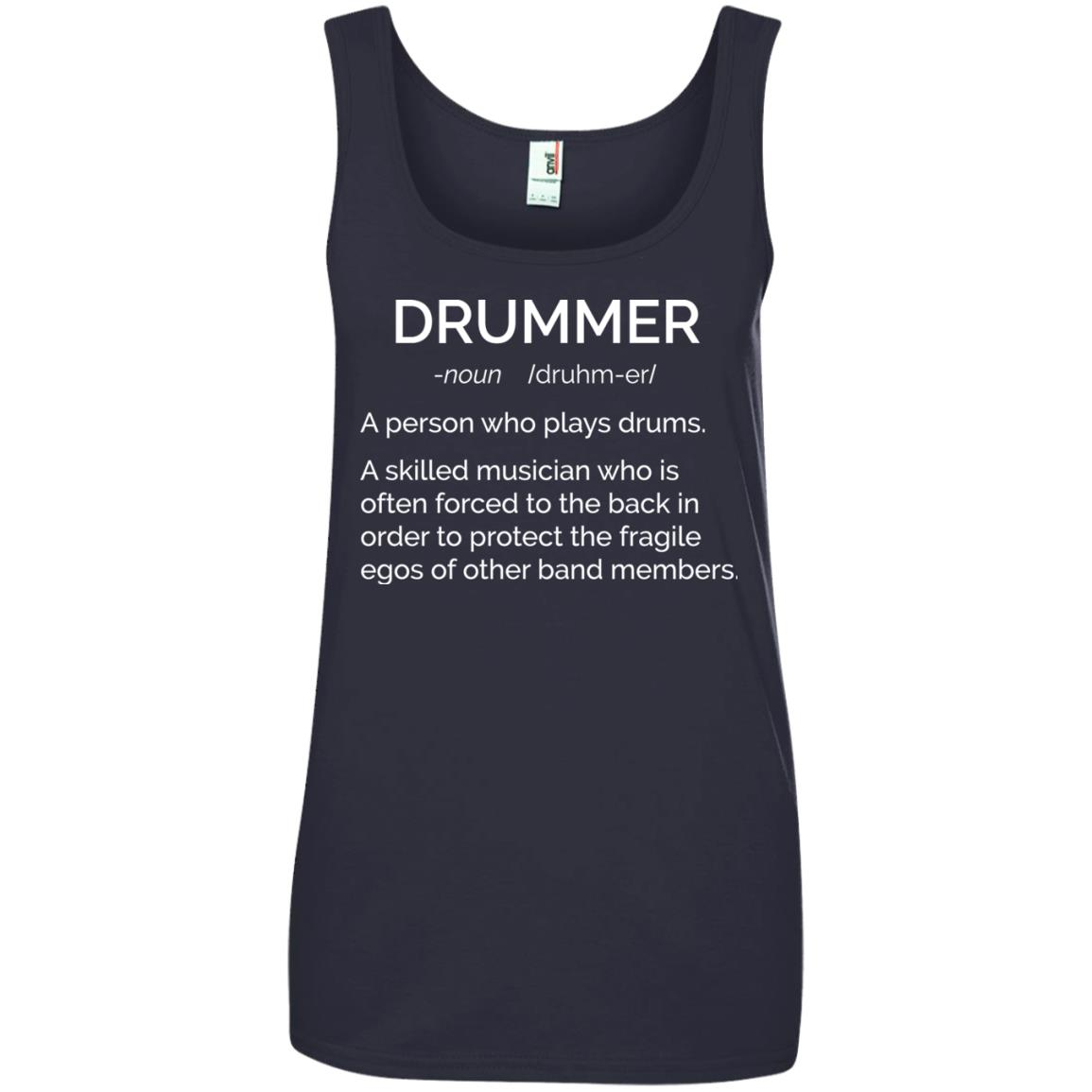 Drummer Definition Shirt: Skilled Musician Often Forced To The Back