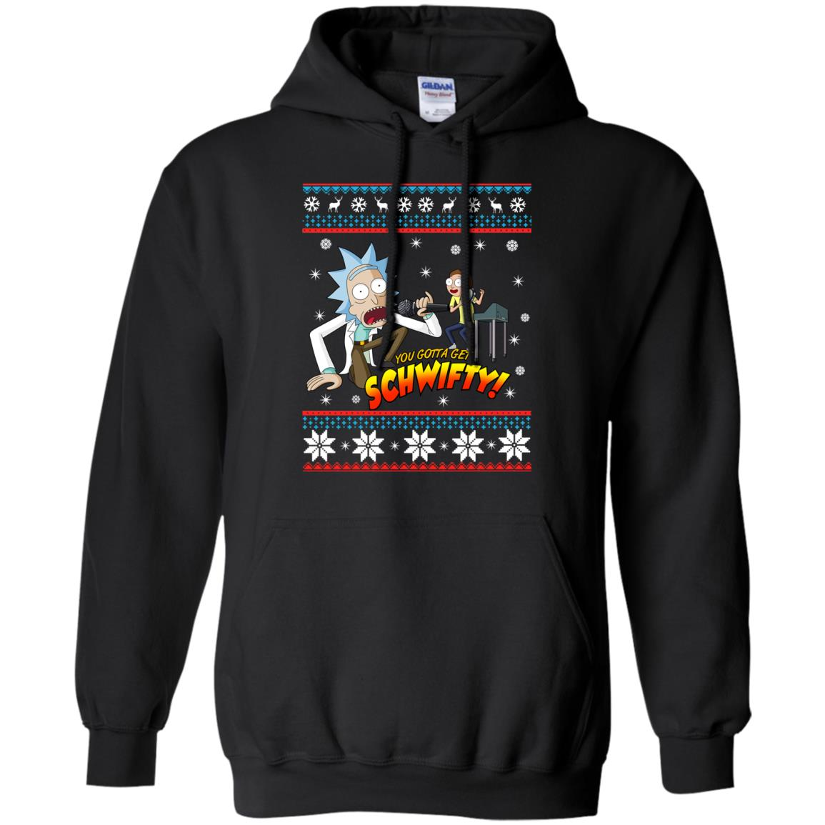 image 2413 - You gotta get Schwifty Ugly Christmas sweater, hoodie