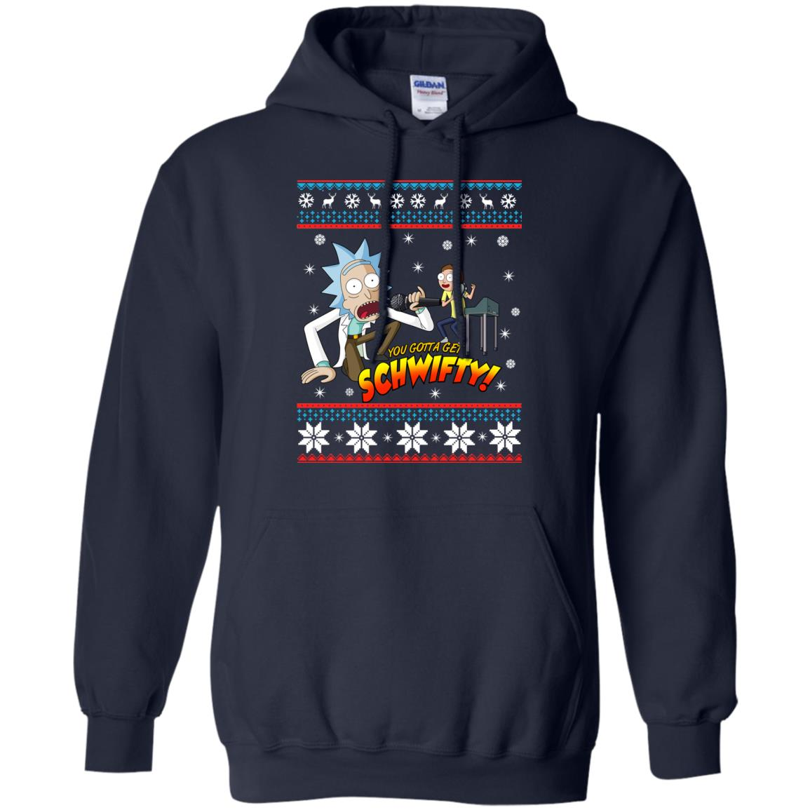 image 2414 - You gotta get Schwifty Ugly Christmas sweater, hoodie