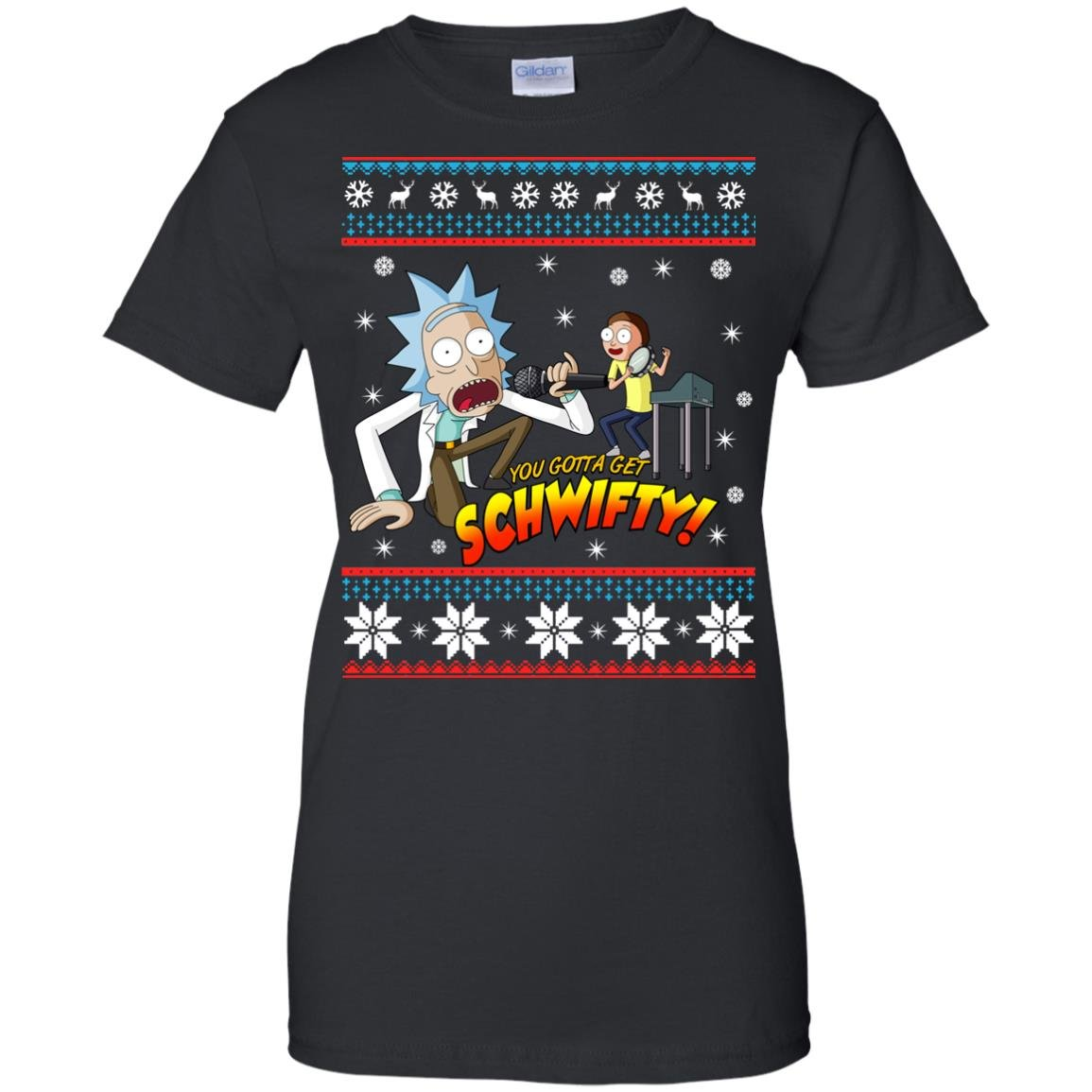 image 2420 - You gotta get Schwifty Ugly Christmas sweater, hoodie