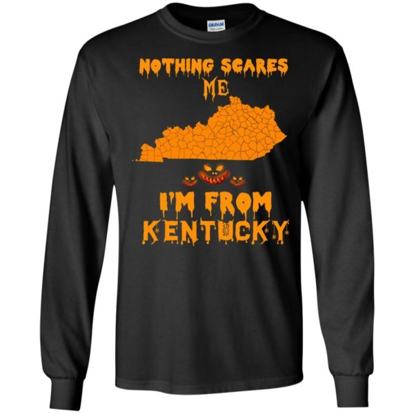 image 246 600x600 - Halloween: Nothing Scares Me I'm From Kentucky shirt, hoodie, tank