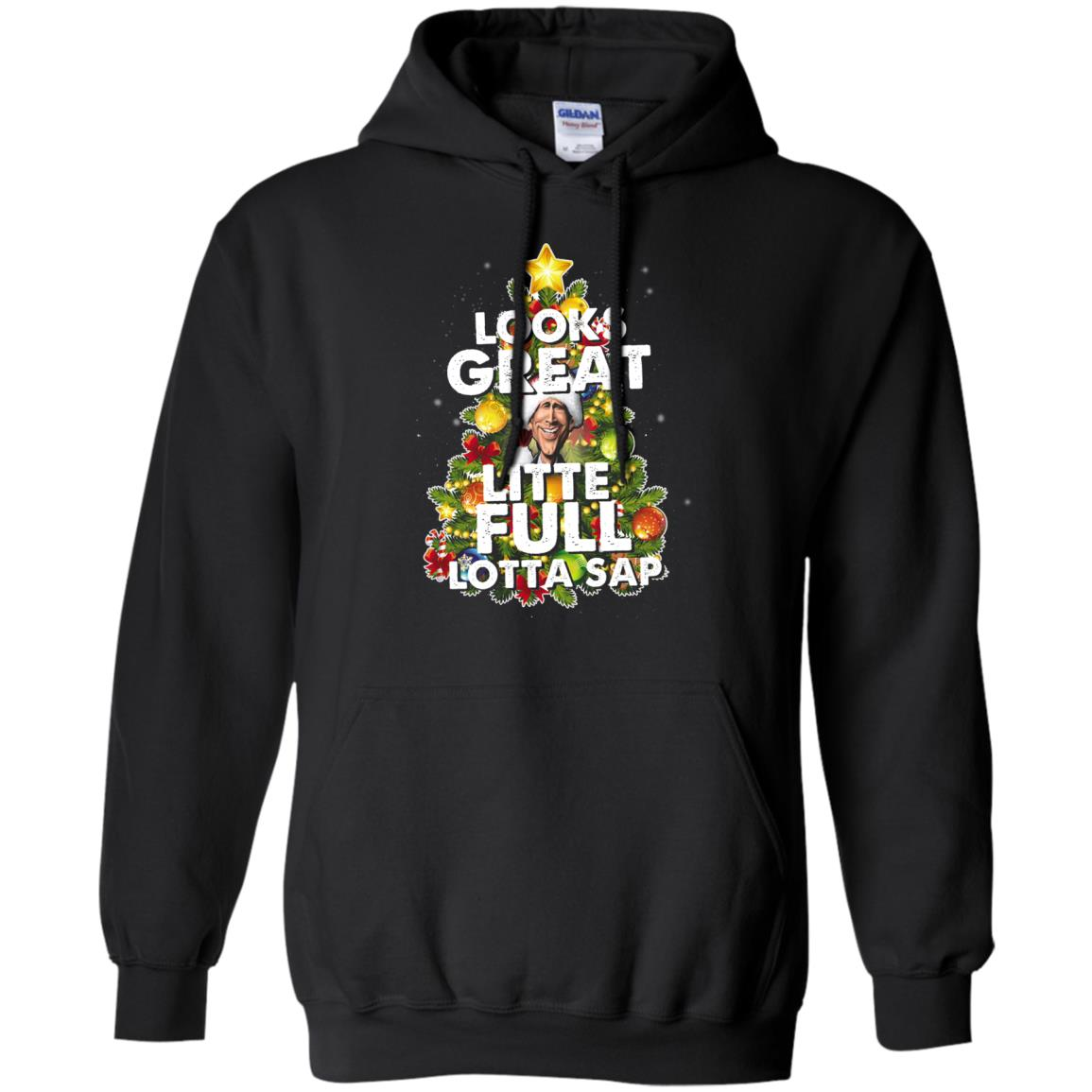 image 2485 - Looks great little full lotta sap ugly Christmas sweater, hoodie