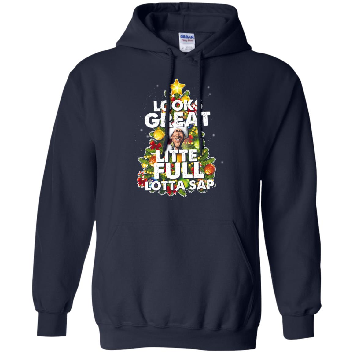 image 2486 - Looks great little full lotta sap ugly Christmas sweater, hoodie