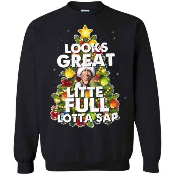 image 2487 600x600 - Looks great little full lotta sap ugly Christmas sweater, hoodie