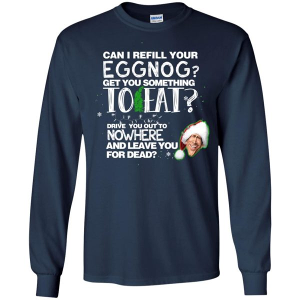 image 2496 600x600 - Can I Refill your eggnog get you something to eat Christmas Sweater, Hoodie