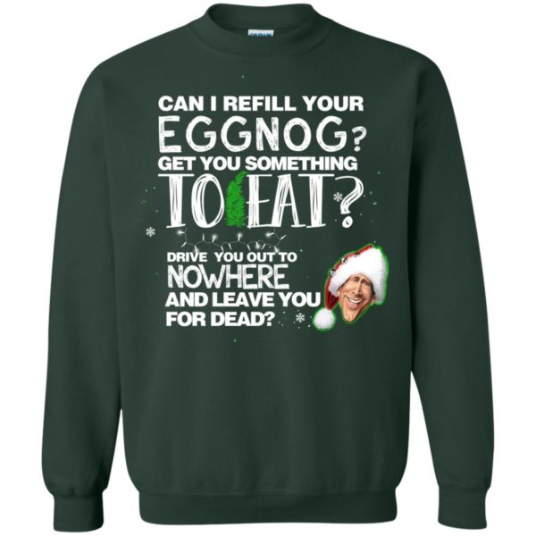 image 2502 600x600 - Can I Refill your eggnog get you something to eat Christmas Sweater, Hoodie