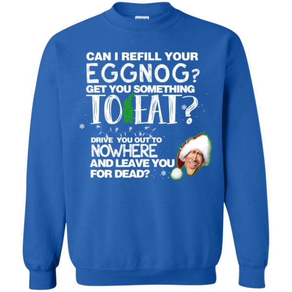image 2503 600x600 - Can I Refill your eggnog get you something to eat Christmas Sweater, Hoodie
